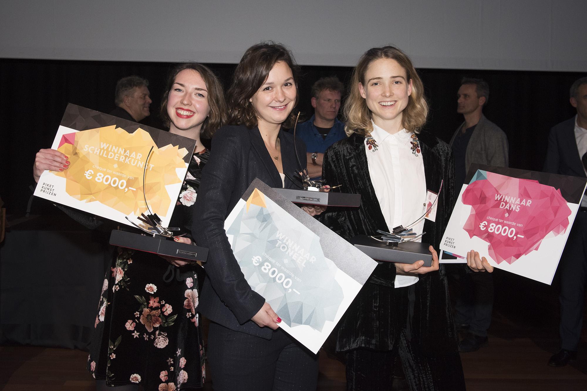 Uitreiking Piket Kunstprijzen 2016