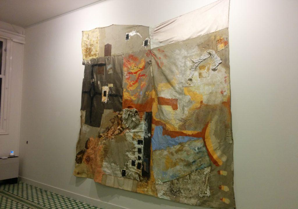 Werk van Debbie Young in galerie Vonkel, Den Haag